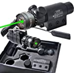 NEW Tail cap switch Green Dot Laser S...