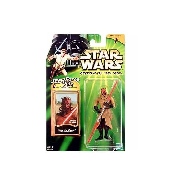 Star Wars Power of the Jedi Action Figure - Darth Maul - Sith Apprentice