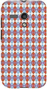 Kasemantra Geometric triangles Case For Motorola Moto G