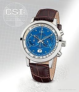 CSI: Watches - Kronsegler CSI Men Chronograph steel-blue