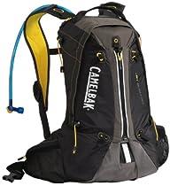 Camelbak Octane 18X Hydration Pack (100-Ounce/1198 Cubic-Inch/823 Cubic-Inch, Black/Lemon Chrome)