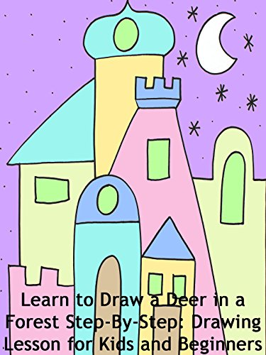 How to Draw a Desert Mansion Step-By-Step for Beginners and Children
