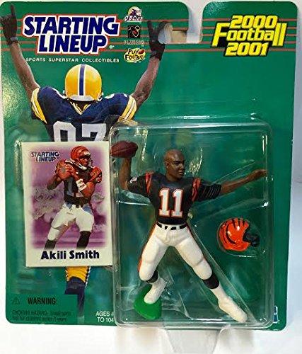 2000 NFL Starting Lineup Hobby Edition - Akili Smith - 1