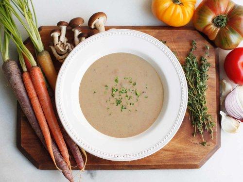 Dcuisine - Wild Mushroom With Madeira & Brie Soup (Gluten-Free) - 4