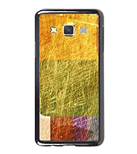 Multicolour Abstract Pattern 2D Hard Polycarbonate Designer Back Case Cover for Samsung Galaxy A7
