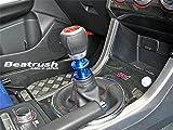 Beatrush(ビートラッシュ) リバースノブ ブルー スバル WRX Sti [VAB]、WRX sti [GRB,GVB]、インプレッサ WRX sti [GDB]、フォレスター [SG9] ※6速マニュアル車専用 【S76024RKB】