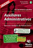 img - for Auxiliares Administrativos del SAS. Test Espec fico (Spanish Edition) book / textbook / text book