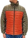 (マルカワジーンズパワージーンズバリュー) Marukawa JEANS POWER JEANS VALUE ダウンジャケット メンズ 軽量 撥水 ライトダウンジャケット 秋 冬 6color LL オレンジ