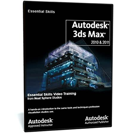 Autodesk 3ds Max 2010/11 Authorised Essential Skills Video Training
