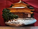 Golden Temple Japan Japanese Castle Thai Magnet Hand Made Craft