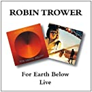For Earth Below/Live (2 albums sur 1 seul CD)