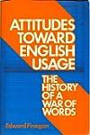 Attitudes Toward English Usage: The H...
