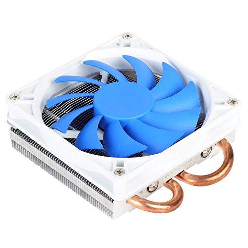 Silverstone Tek Low-Profile Heatsink CPU Cooler with 92mm PWM Fan, Two 6mm Heat Pipes, Intel LGA1155/1156/1150 and AMD AM2/AM3/FM1/FM2 AR05 (Silverstone Cpu Cooler compare prices)