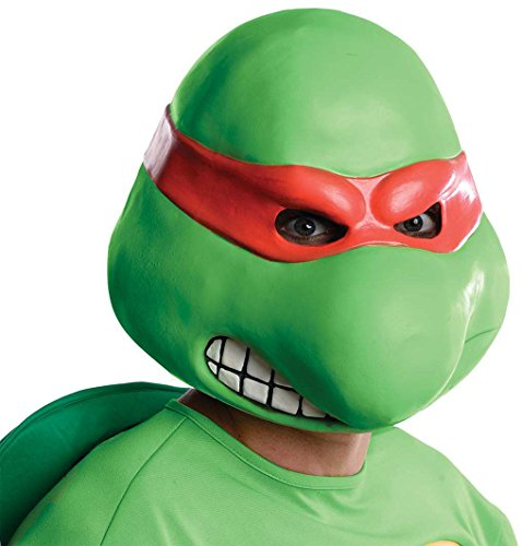 Raphael Mask Ninja Turtles Overhead Latex