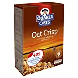 Quaker Oat Crisp Cereal 375 g (Pack of 7)