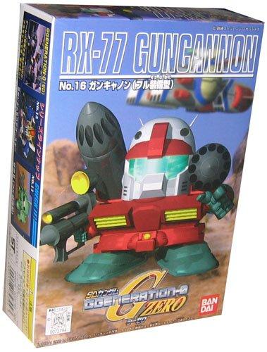Bandai Hobby BB#16 RX-77 Guncannon, Bandai Sd Action Figure - 1