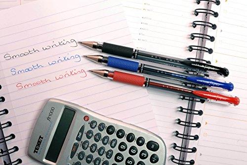 Uni-ball 153486394 - Bolígrafo de tinta gel negro (Paquete de 3)