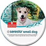 Seresto 8 Month Flea & Tick Collar for Small Dogs by Bayer