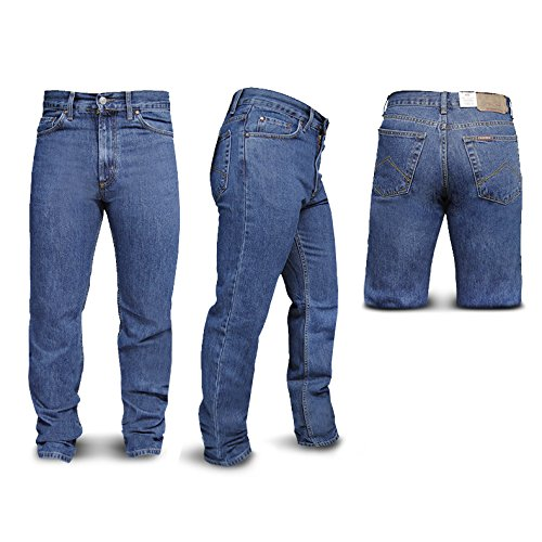 Jeans Uomo CARRERA Art.700 Regular Denim 5 Tasche 3 Colori (Blu Scuro - 48)