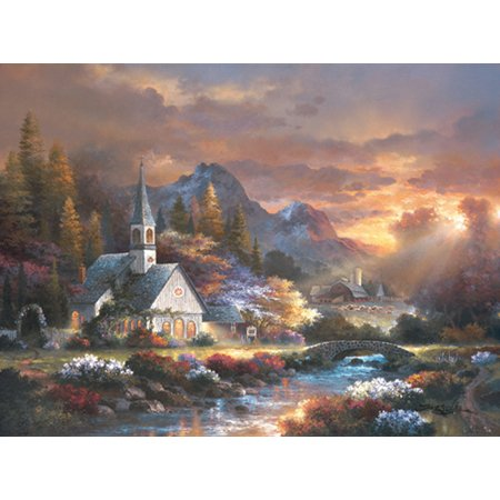 Cheap SunsOut HOT James Lee Morning Of Hope 1000Pc Jigsaw Puzzle (B000MV1W22)