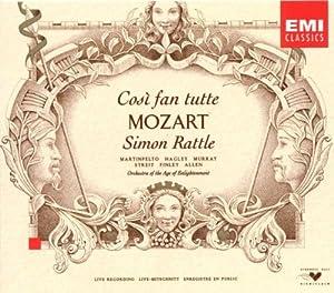 Mozart: Così fan tutte / Martinpelto, Hagley, Murray, Streit, Finley, Allen, Rattle