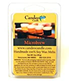 Microbrew Beer Scented, Super Scented Soy Melt Cubes, Pack of 2- Use in Tart Warmers, Tea Light Warmers, Oil Warmers or Scentsy Warmers!