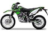 エムディーエフ(MDF) グラフィックキット ライトカウルセット ファイアロードモデル グリーン KLX125(10-) MKLX125-B-GR-LC