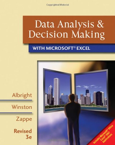 Data Analysis and Decision Making with Microsoft Excel:...