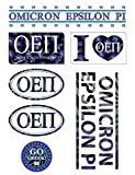 Omicron Epsilon Pi Sheet - Animal Print Theme. 8.5