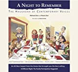img - for A Night to Remember: The Haggadah of Contemporary Voices (Hebrew -English) (English and Hebrew Edition) book / textbook / text book