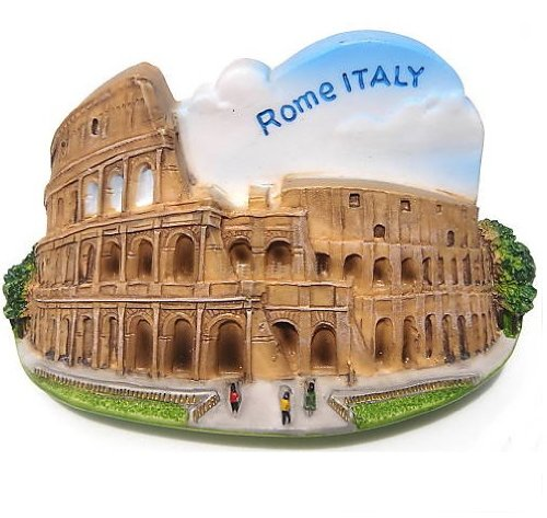 Colosseum Rome Italy Italian Europe EU 3D Resin TOY Fridge Magnet Free Ship - 1