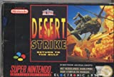 Desert Strike Return to the Gulf Super Nintendo Sn