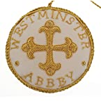 Cream Cross Roundel Decoration