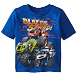 Blaze and the Monster Machines Toddler Boys' Short Sleeve T-Shirt Shirt, Royal, 5T