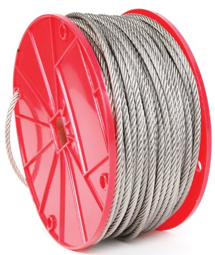 Koch 016161 Cable, 7 by 19 Construction, Trade