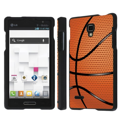 NakedShield LG Optimus L9 P769 / Optimus 4G (Basketball) Total Hard Armor Art Phone Case (Lg Optimus L9 P769 compare prices)