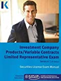 img - for Series 6 Investment Company Products/Variable Contracts Limited Representative Exam License Exam Manual book / textbook / text book