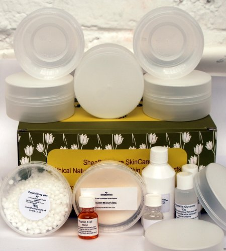 Make your Own Natural Body Cream at Home the easy Way, From Scratch. Natural Body Cream or Lotion Making Kit – Learn How to Make Your Own Natural Body Cream. Makes 5 x 160ml Pots.
