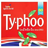 Typhoo 80 Teabags 250g - Pack of 6