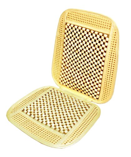 Zone Tech Bead And Rattan Cool Seat Cover