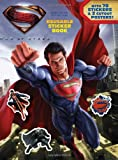 img - for Man of Steel: Reusable Sticker Book book / textbook / text book