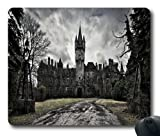 Cool Horror Castle Personalized Photo Mouse Pads / Mouse Mats