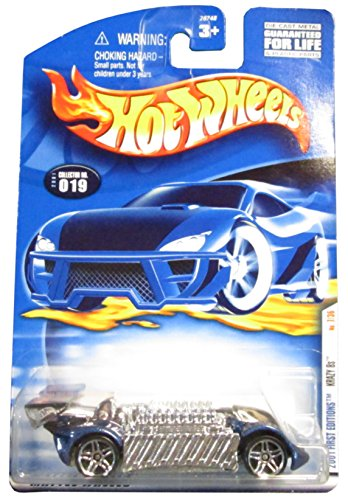 Hot Wheels 2001 First Edition Krazy 8s 7/36 019 1:64 Scale - 1
