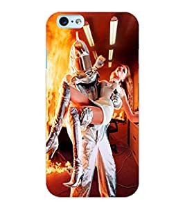 ColourCraft Rescuing Hero Design Back Case Cover for APPLE IPHONE 6