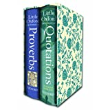 Little Oxford Gift Box: Little Oxford Dictionary of Quotations; Little Oxford Dictionary of Proverbsby Elizabeth Knowles