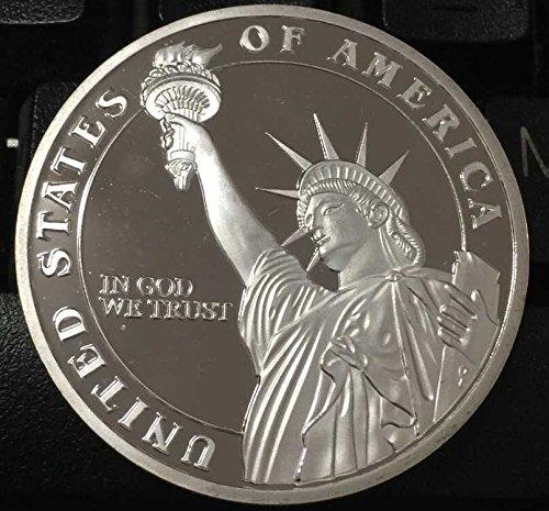 Trump Tax Metal: Donald Trump 2016 Silver Plated Presidential Liberty