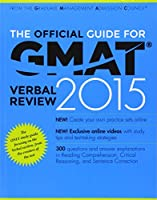 The Official Guide for GMAT Verbal Review 2015, 3rd Edition Front Cover