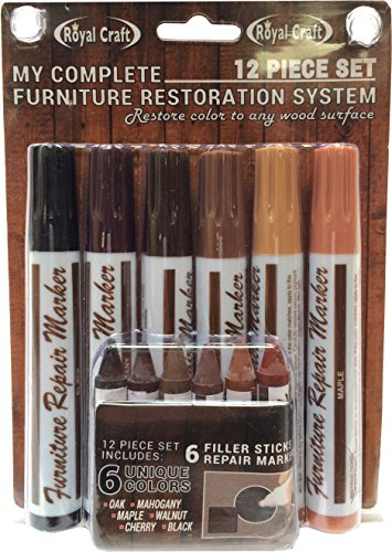 royal-craft-48375-furniture-repair-system-12-piece-marker-filler-crayon-set-for-every-wood-shade