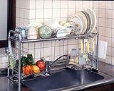 キチンとキッチンシンク収納ラック下段オプション付き(組立式) KS-2713 952791