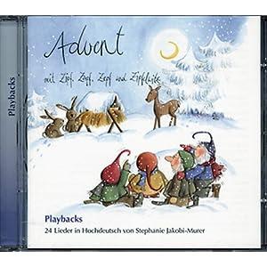 Advent mit Zipf, Zapf, Zepf und Zipfelwitz - Playback-CD in Hochdeutsch